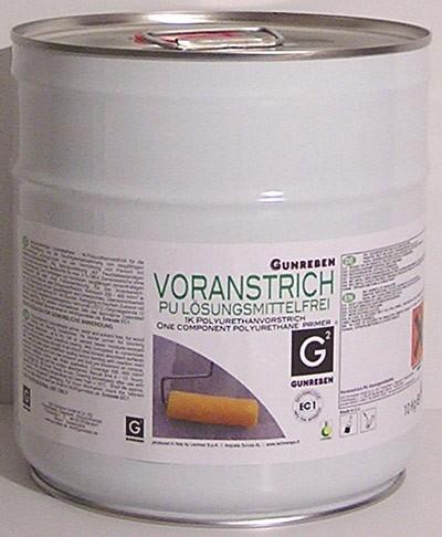 Grundierung PU von Gunreben, frei von Lösungsmitteln, passend zu unserem 1K SM Polymer Parkettkleber