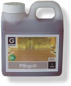 Pflegeöl Natur von Gunreben 1,0 Liter Kanister, zur Ersteinpflege geölter Holzböden